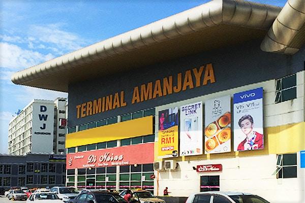 Terminal Amanjaya, Ipoh