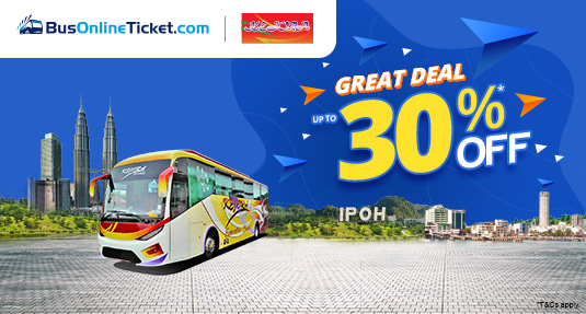 Kejora Express Bus Ticket Promo up to 30% OFF