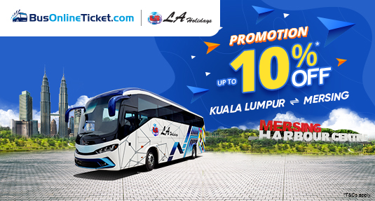 LA Holidays Express launches new route between Kuala Lumpur and Mersing