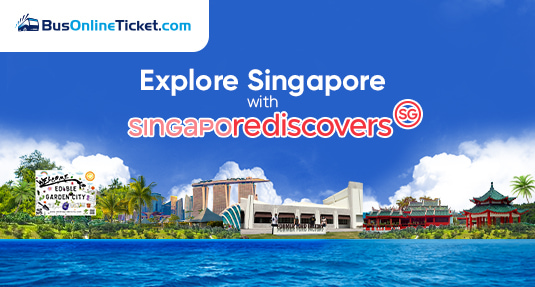 Searching for SingapoRediscovers Tours? Booking online is convenient and time-saving as you can book your tour easily within a few taps.