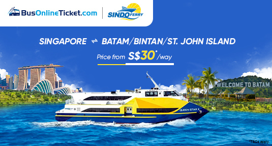 Sindo Ferry from Singapore to Batam, Bintan, St. John Island & More