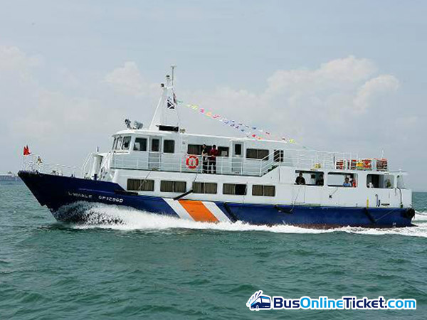 St John Island Ferry with Singapore Island Cruise